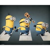 Minions (abbey Road) Mini Poster