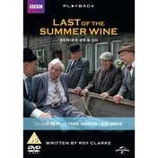 Last of the Summer Wine Series 29 & 30 DVD