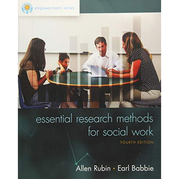 Empowerment Series: Essential Research Methods for Social Work by Earl Babbie, Allen Rubin (Paperback, 2015)