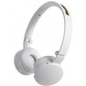 Groov-e GVBT100W Wave Bluetooth Stereo Headphones with Mic (White)