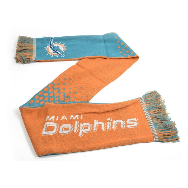 Miami Dolphins NFL Fade Scarf