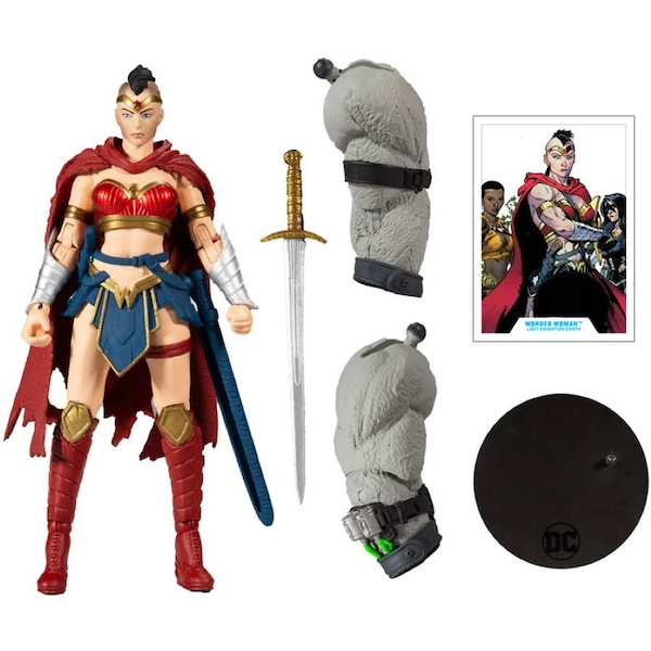 Wonder Woman (Last Knight on Earth) DC Multiverse Mcfarlane Action Figure