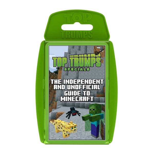 Image of Independent Unofficial Guide To Minecraft Top Trumps Card Game