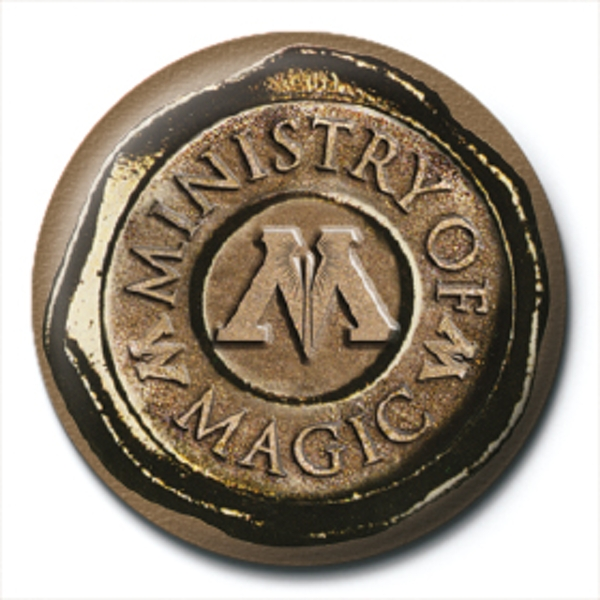 Harry Potter - Ministry Of Magic Seal Badge