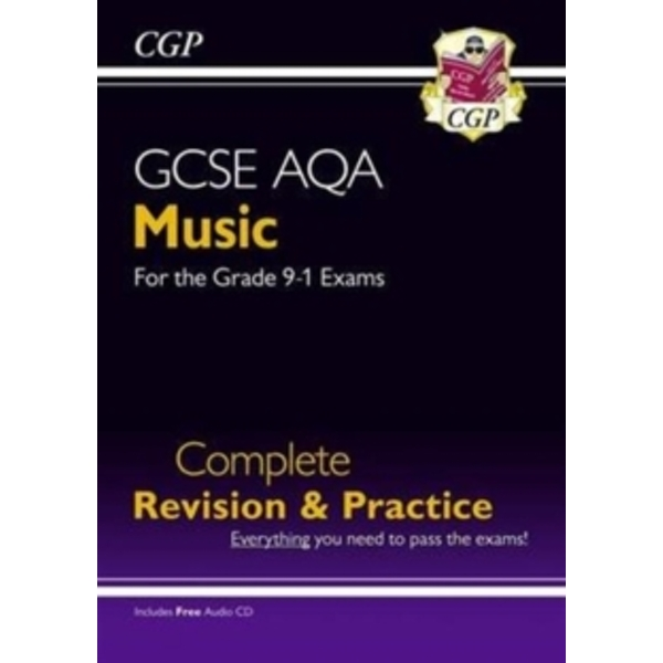 New GCSE Music AQA Complete Revision & Practice (with Audio CD) - For the Grade 9-1 Course by CGP Books (Paperback, 2016)