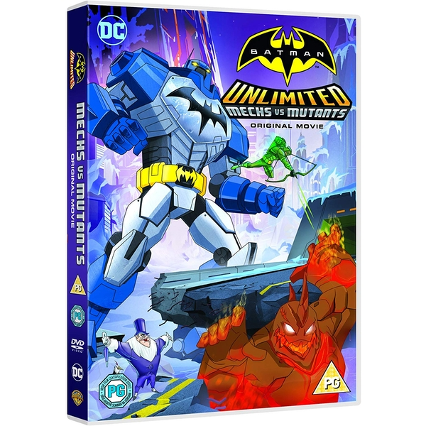 Batman - Unlimited Mechs Vs Mutants DVD