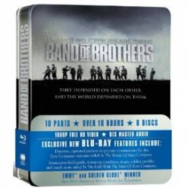 Band Of Brothers HBO Complete Series (Commemorative 6-Disc Gift Set In Tin Box) Blu-Ray - Image 2