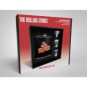 The Rolling Stones - Tongue Hip Flask Gift Set