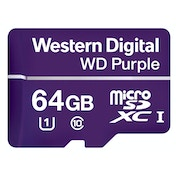 Western Digital Purple memory card 64 GB MicroSDXC Class 10
