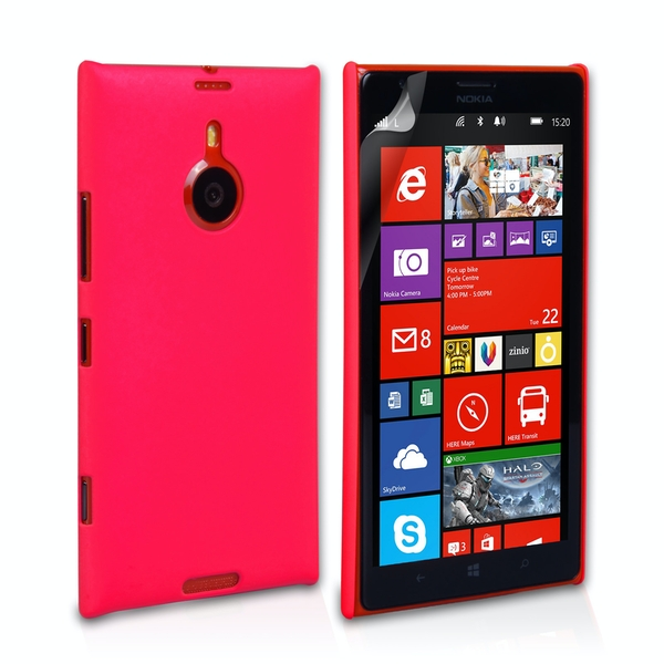 the latest 6f2d5 86f35 YouSave Accessories Nokia Lumia 1520 Hard Hybrid Case - Hot Pink -  365games.co.uk