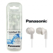 Panasonic Comfort Fit Crystal White Earphones RP-HJE170 (for ipod & iphone)