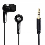 Basic In-Ear Stereo Earphones (Black)