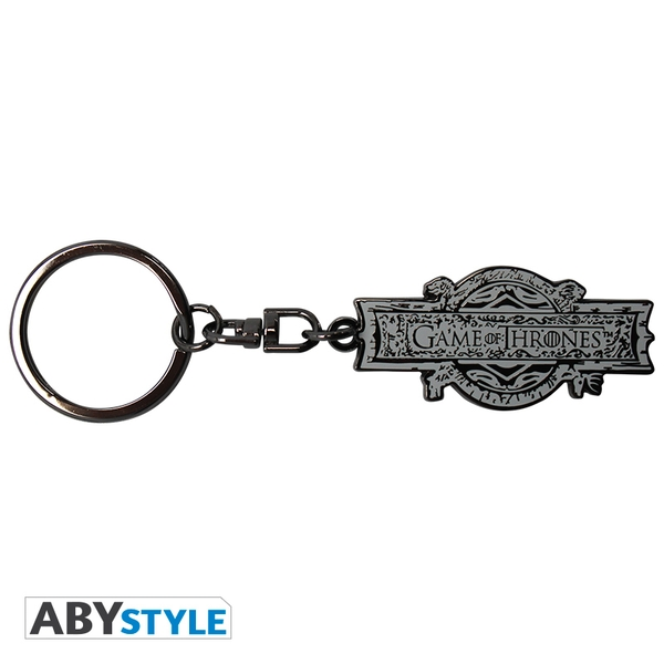 Game Of Thrones - Opening Logo Metal Keyring