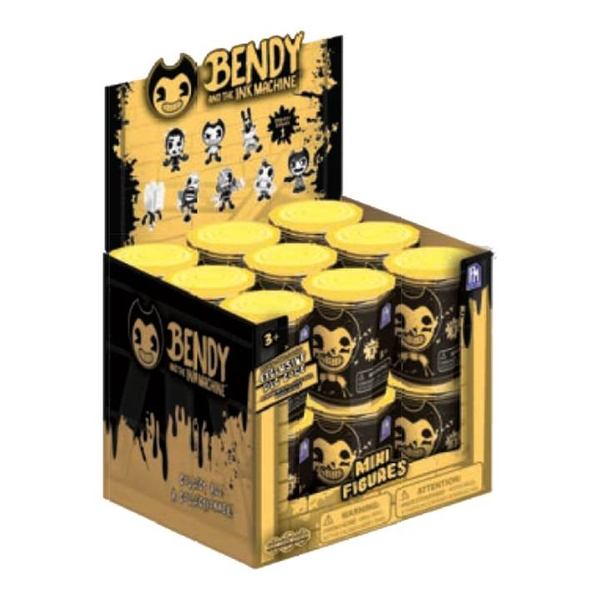 Bendy & The Ink Machine Series 1 Collectable Mini Figures (18 Packs)