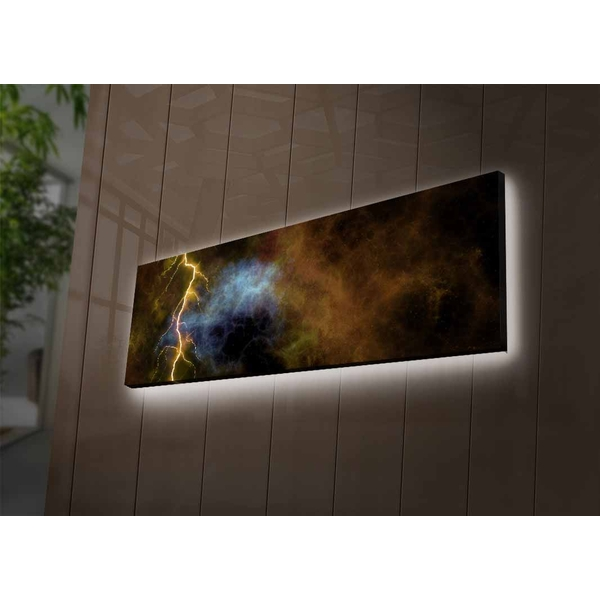 3090?ACTD-53 Multicolor Decorative Led Lighted Canvas Painting