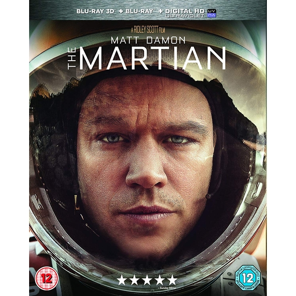 The Martian 3D + Blu-ray + Digital Download