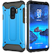 Samsung Galaxy S9 Plus Armoured Shockproof Carbon Case - Sky Blue - Image 2