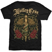Motley Crue Exquisite Dagger Mens Black T Shirt: Small