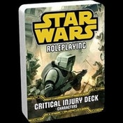 Star Wars Roleplaying Critical Injury Deck: