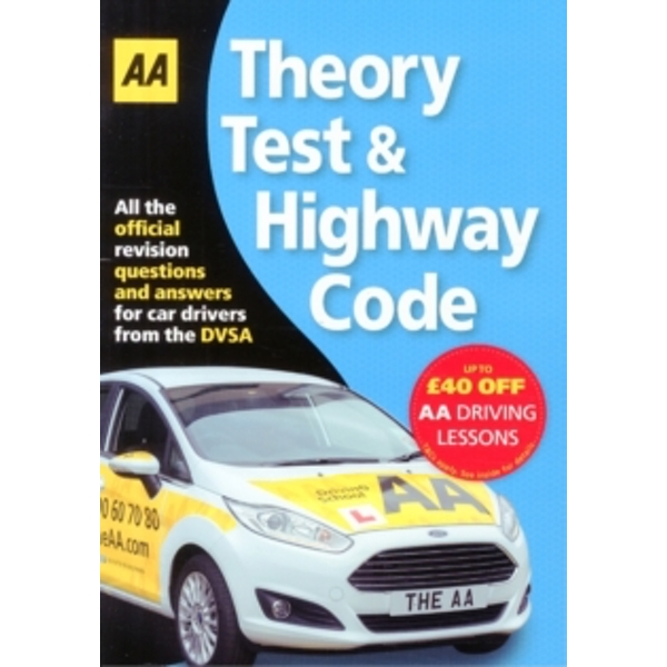 Theory Test & Highway Code by AA Publishing (Paperback, 2016)