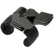 Fox 40 Pearl Official Fingergrip Whistle Black