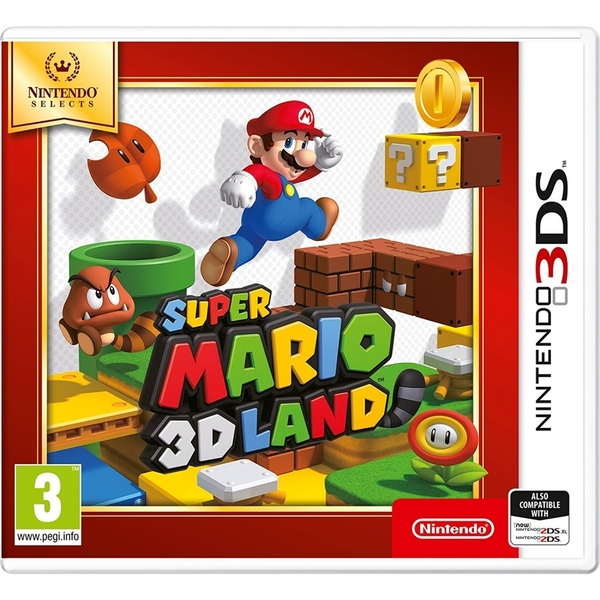 Super Mario 3D Land Game 3DS (Selects) - Image 1