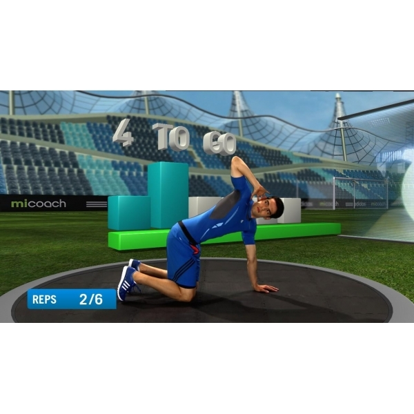 PlayStation Move Adidas miCoach Game PS3 - Image 3
