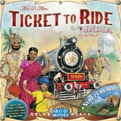 Ex-Display Ticket To Ride Map Collection Volume 2 India & Switzerland Used - Like New