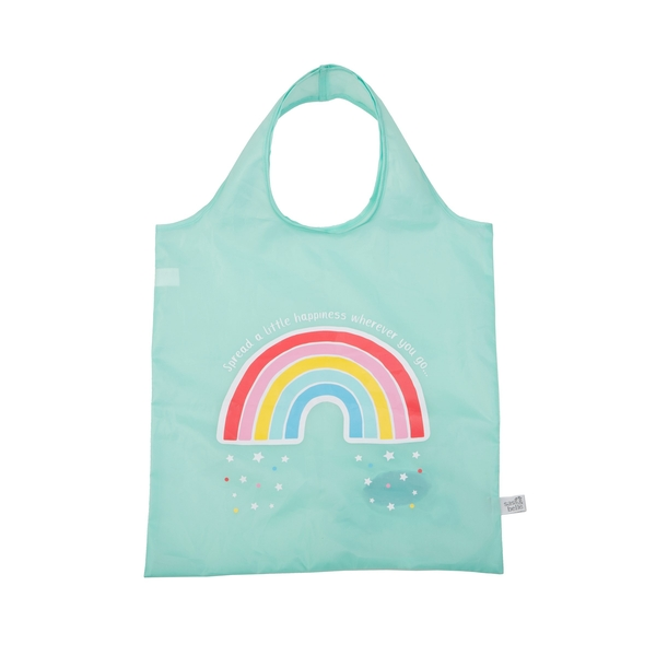 Sass & Belle Chasing Rainbows Foldable Shopping Bag