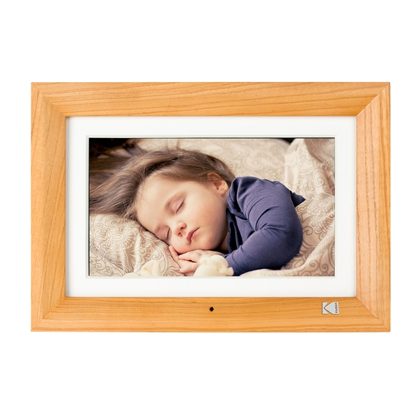 "Kodak Hi Resolution 1024 x 600 10"" Digital Photo Frame - Burlywood"