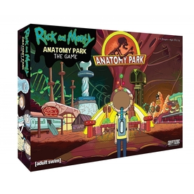 Rick and Morty Anatomy Park The Board Game