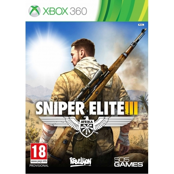 Sniper Elite III 3 Xbox 360 Game - Image 1
