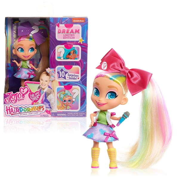 JoJo Siwa D.R.E.A.M Limited Edition Hairdorables Doll  - Skirt Outfit