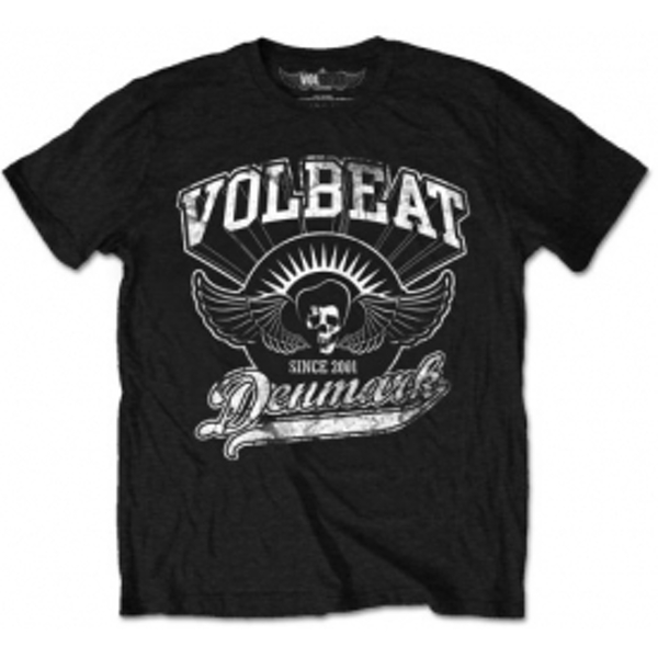Volbeat Rise From Denmark Mens Blk T Shirt: Small