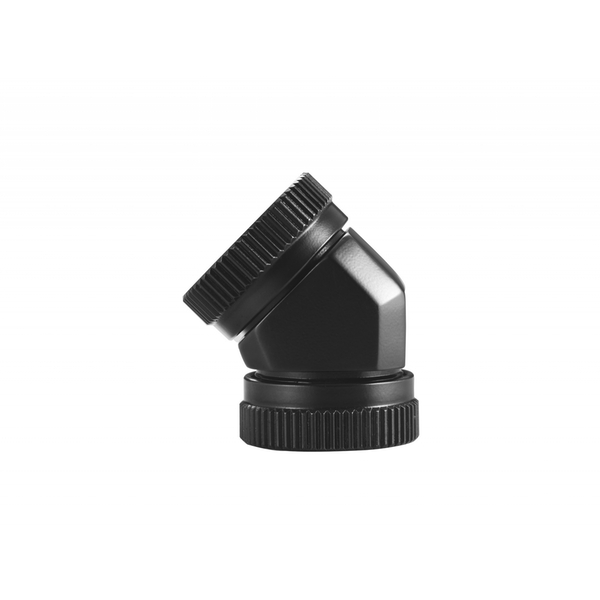 Phanteks 12mm Hard Tube Adapter 45 Satin Black