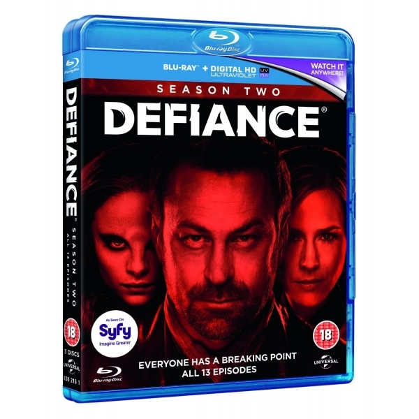 Defiance - Season 2 Blu-ray & UV Copy