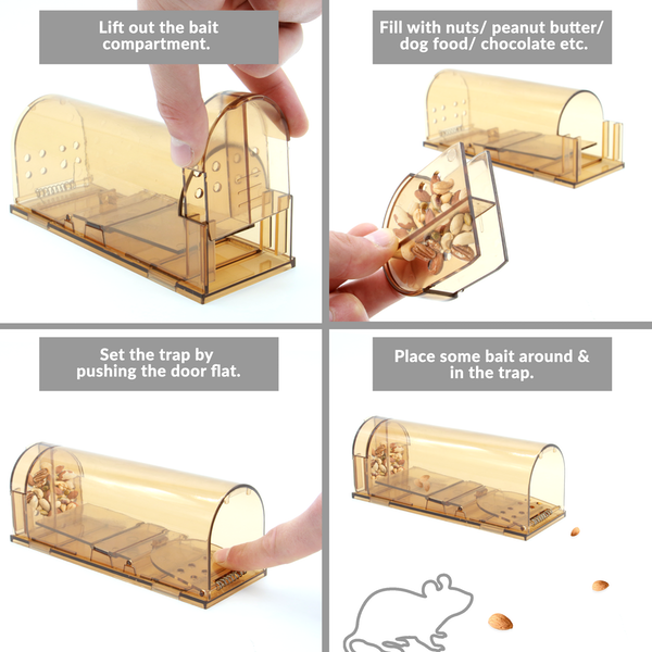 Humane Mouse & Rodent Trap | M&W - Image 4