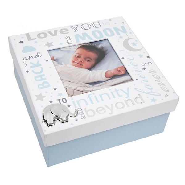 Love You To The Moon Baby Boy Box
