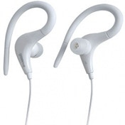 Groov-e Sports Clips Ultra Light Earphones White
