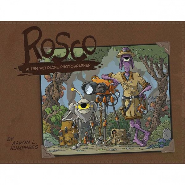 Rosco Alien Photographer Hardcover