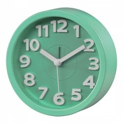 hama Retro Round Alarm Clock (Light Green)