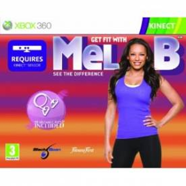 Kinect Get Fit With Mel B with Resistance Band Game Xbox 360