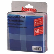 Hama Cd-rom/DVD-Rom Protective Sleeves 50