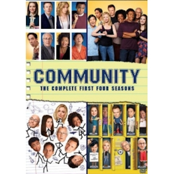 Community Season 1-4 DVD