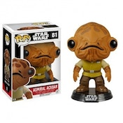 Admiral Ackbar (Star Wars: The Force Awakens) Funko Pop! Bobble-Head Vinyl Figure