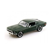 1:43 Steve McQueen Ford Mustang GT in Bullitt Packaging Diecast