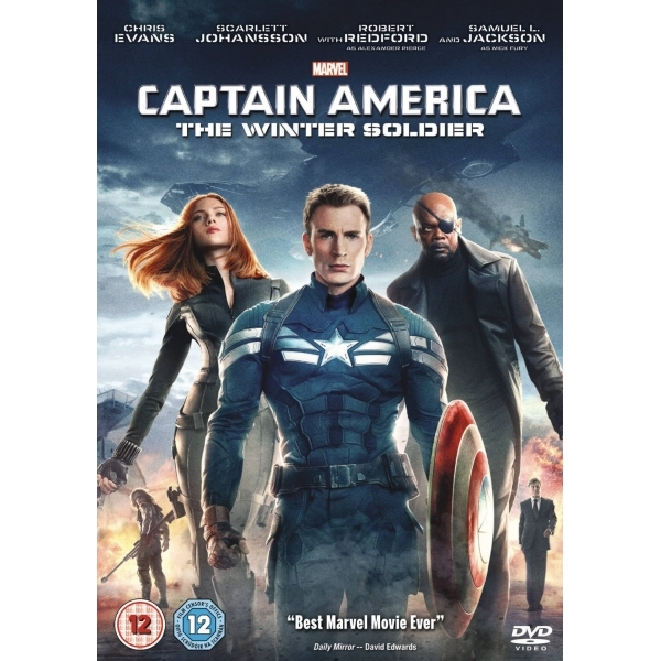 Marvels Captain America The Winter Soldier DVD