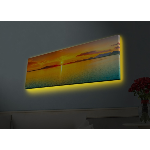 3090HDACT-003 Multicolor Decorative Led Lighted Canvas Painting