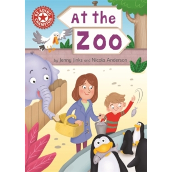 Reading Champion: At the Zoo : Independent Reading Red 2