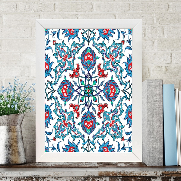 BC260709722 Multicolor Decorative Framed MDF Painting
